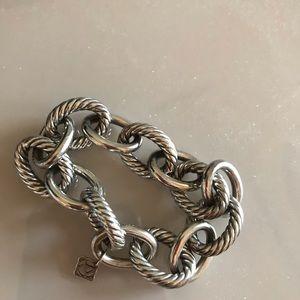 David Yurman silver link bracelet